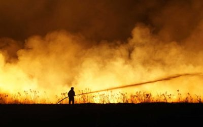 How can Ace Business assist fire affected businesses and volunteer firefighters