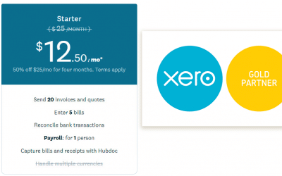 Xero announced starter plan changes