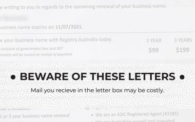 Unsolicited Letters To Be Careful Of