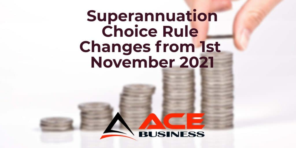 Superannuation choice rule changes